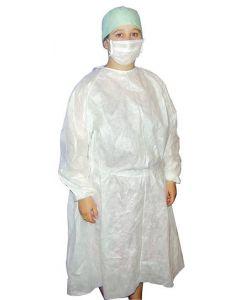 Blouse de protection imperméable PE non stérile