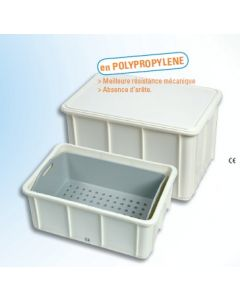 instrubac sans robinet 40 litres