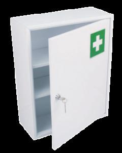 Armoire à Pharmacie métal 1 porte, 450x360x150 mm
