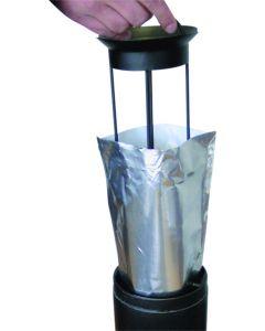 Sachet Aluminium pour Cendrier sur Pied, 8L, Carton de 36