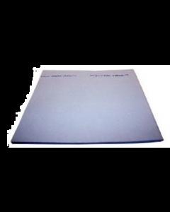 Serpillière viscose 160 gr / m² bleue 50 x 70 cm, Colis de 96