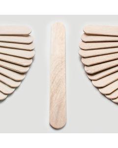 Abaisses langue en bois Adulte par boite de 100