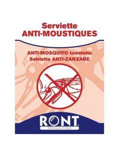 Serviette Anti-moustique par sachet de 10