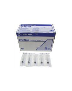 Seringue 3pieces 5ml sterile par boîte de 100