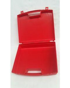 Trousse de secours vide Rouge ou Noire  en PP 27cm x 22cm x 7.5cm