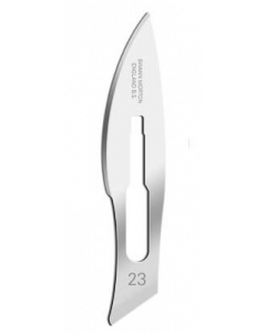Lames stériles standard N°23 SWANN-MORTON, boîte de 100