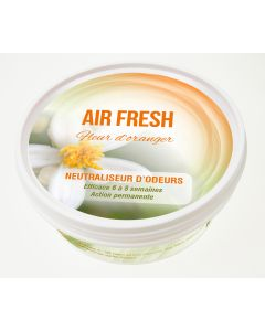 Gel neutraliseur d'odeurs AIR FRESH ® Senteur Fleur d'oranger