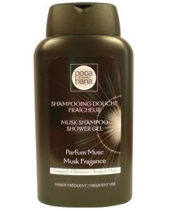 Shampooing douche Musc PH Neutre, 300 ml
