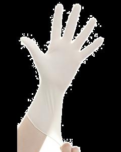 Vue Gant nitrile non poudré Blanc taille XL boîte de 200