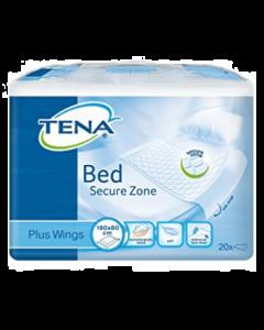 TENA Bed Plus Wings Alèses bordable - 80x180 , sachet de 20