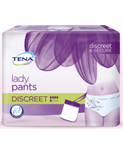 Tena Lady Pants Discreet - M, sachet de 12