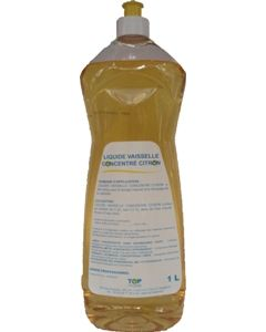 Liquide vaisselle concentré citron 1L
