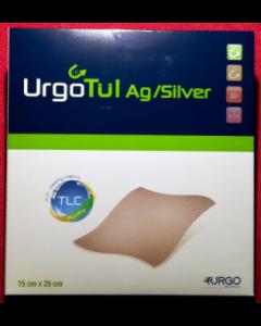 URGOTUL AG interface lipido-colloïde + sel d'argent 10x12cm, boîte de 16
