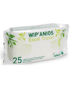 lingettes wipanios travel petit sachet de 25 lingettes